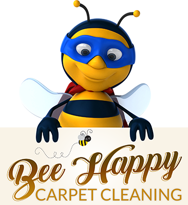 Bee Happy Carpet Cleaning Logo